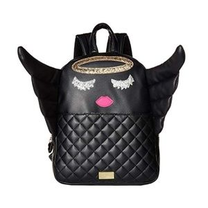 2Day Sale!Luv Betsey Johnson Angle Kitch Backpack